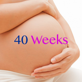 Dr Miriam Stoppard talks about Pregnancy at 40 weeks